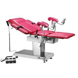 Mesa de operaciones eléctrica para ginecologia y obstetricia con control remoto, 260/210 kg. Cat TCH-ET-400B TechartMed