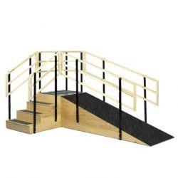 Escalera con Rampa Cat EIF-LA-1607 Equipos Interferenciales