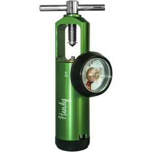 Regulador de oxigeno 1010 Verde Cat. HNY-1010  Handy