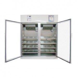 Refrigerador vertical de 30 pies para vacunas y biológicos de acero inoxidable 2 puertas sólidas