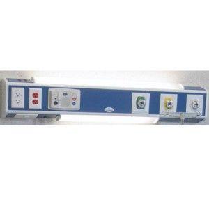 Consola básica 4 v delta 60 cm 3 tomas (oxígeno aire y vacío) sin iluminación Cat ARD-902785 Aramed
