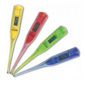 Termómetro rígido de 60 segundos con 20 piezas 5 diferentes colores Cat MIF-MT50 Microlife
