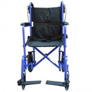 Silla de traslado de aluminio con asiento de 19