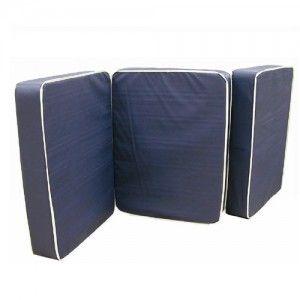 Colchón para cama de hospital 198x86x10cm en vinyl/tela seccionado para cama de hospital (300-002-50-5) Cat AZT-COLVT10NA AZTALZ