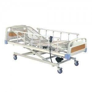 Cama para hospital eléctrica 3 posiciones base rejilla Cat HER-C3230 Hergom