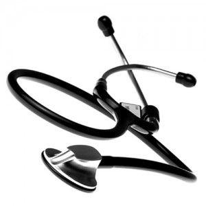 Estetoscopio sencillo premier LUX Negro Cat CHK-E600-NEFRO Checkatek