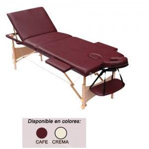 Mesa para masaje tres secciones con levanta Piernas Cat HCR-M012A Home Care