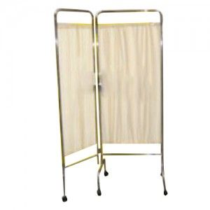 Biombo doble de dos cortinas cromado Cat CIS-1630 Ciiasa
