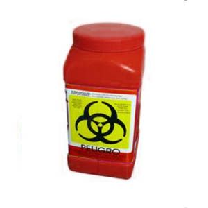 Recolector De Polipropileno Para Liquidos Color Rojo Capacidad Volumen: 3.0 Lts. Cat A1C-PL-3R A1 Contenedores