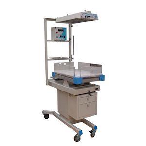 Cuna térmica de calor radiante servo digital PLUS con fototerapia integrada Cat TEH-TONALLI1-SDPFI TEHSA