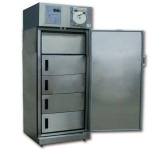 Congelador vertical de 7 pies para biológicos y plasma de acero inoxidable 1 puerta sólida Cat REF-CVASDV-7 Refrimed