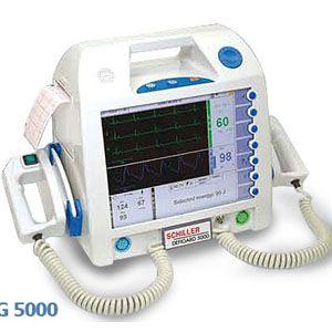 Desfibrilador 5000 básico AED con marcapaso, SPO2  y PANI  SCH-DG5000MSN