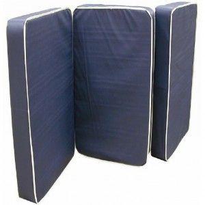 Colchón para cama de hospital 198x86x15cm de vinyl/tela seccionado (300-002-49-5) Cat AZT-COLVT15NA AZTALZ