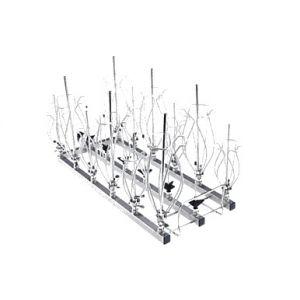 Módulo para Injectores con sujetador tipo clip A 301/1 con 3 x 6 puntos de carga para Termodesinfectora  PG 8583 CD Cat. MIE-9862500  Miele