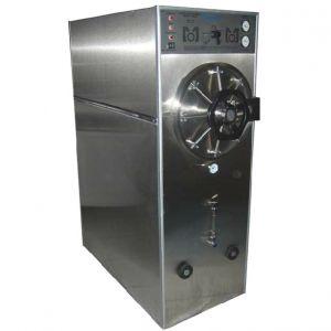 Autoclave horizontal cilíndrica de gabinete doble cámara bifásica manual modelo AGB-39 Cat MOL-AGB-39 Man-Olve
