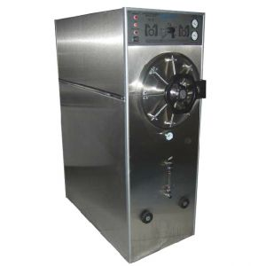 Autoclave horizontal cilíndrico de gabinete doble cámara manual trifásica Cat MOL-AGT-49 Man-Olve
