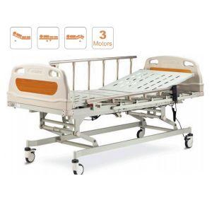 Cama hospitalaria electrica con 3 posiciones y barandales de aluminio Cat AOL-ALK06-B02P Aolike
