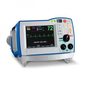 Desfibrilador bifásico Serie R AED (marcapaso, ECG) expansion pack, batería y paletas externas Cat ZOL-RBA Zoll