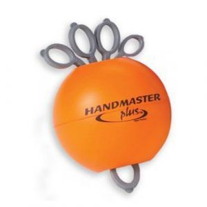Pelota para ejercicio de mano handmaster firme, naranja Cat DYN-DZF Dynatronics