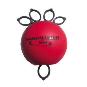 Pelota para ejercicio de mano handmaster mediana, roja Cat DYN-DZM Dynatronics