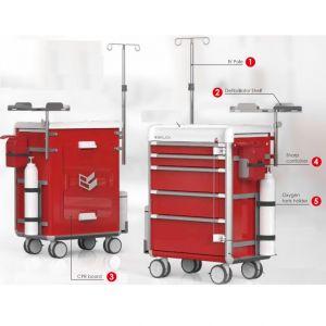 Set de accesorios para carro de emergencia serie ES Cat BAI-ESPKGEMG Bailida