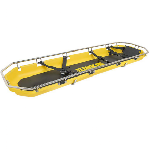 Camilla tipo cesta de polietileno color amarilla Cat JUN-SA200 Junkin