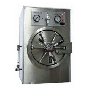 Autoclave horizontal cilíndrica doble cámara manual dental monofásica Cat MOL-M-25DC Man-Olve