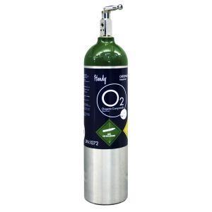 Tanque para oxigeno de 425 litros con oxigeno Cat HNY-MDC Handy