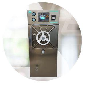 Autoclave de vapor autogenerado 50x50x91 cms 227 lts Cat EBP-PLC21 EBP
