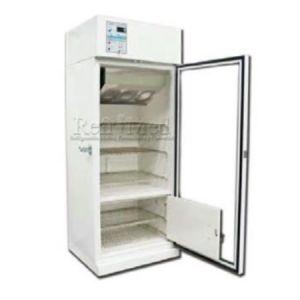 Refrigerador vertical de 16 pies para farmacia esmaltado con 1 puerta de cristal Cat REF-RFECDV-16 Refrimed