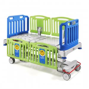 Cama eléctrica pediatrica de altura ajustable Mod. Smile Cat. MLV-348650  Malvestio