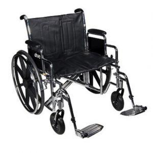 Silla de ruedas Bariátrica ECCDA asiento de 22