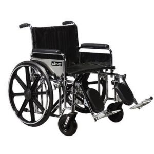 Silla de ruedas Bariátrica EDDA asiento de 22