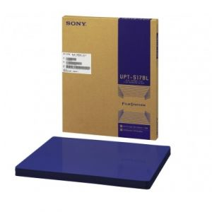 "Película Térmica Azul de 14 X 17"" caja con 125 placas Cat SNY-UPT517BL Sony"