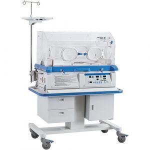 Incubadora térmica neonatal con altura ajustable y gabinete con cajones Cat NND-YP-910 Ningbo David