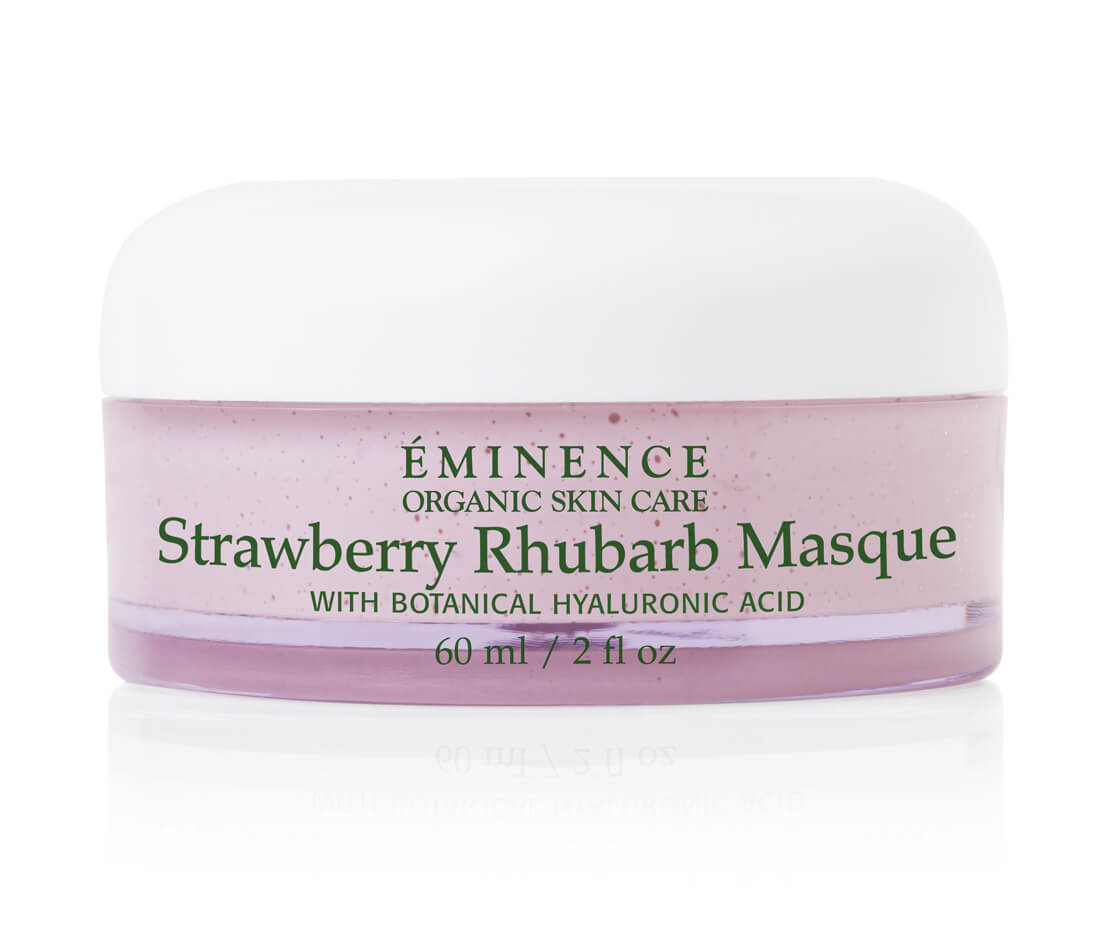 Eminence Strawberry Rhubarb Masque (2 oz) Noxzema Clean Blemish Control Daily Scrub 5 oz
