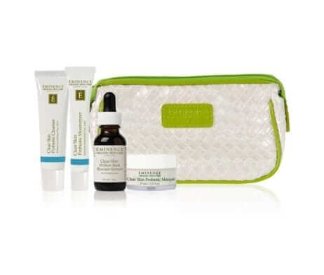 Eminence Clear Skin Starter Set Contents
