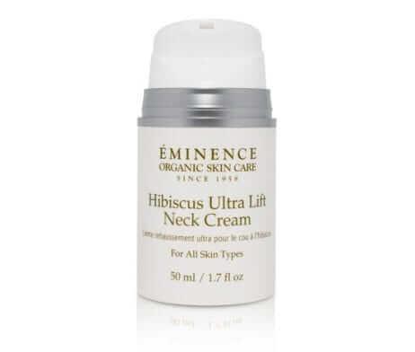 Eminence Hibiscus Ultra Lift Neck Cream Open