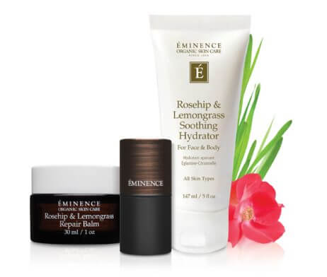 Eminence Rosehip & Lemongrass Lip Balm SPF 15 Repair Protect Collection