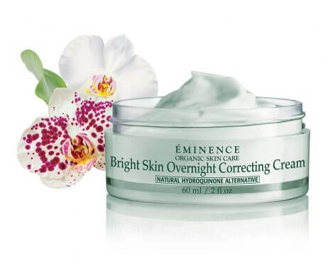 Eminence Bright Skin Overnight Correcting Cream Open