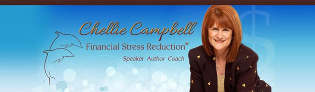 Chellie Campbell, Financial Stress Reduction Coach, Author, Speaker