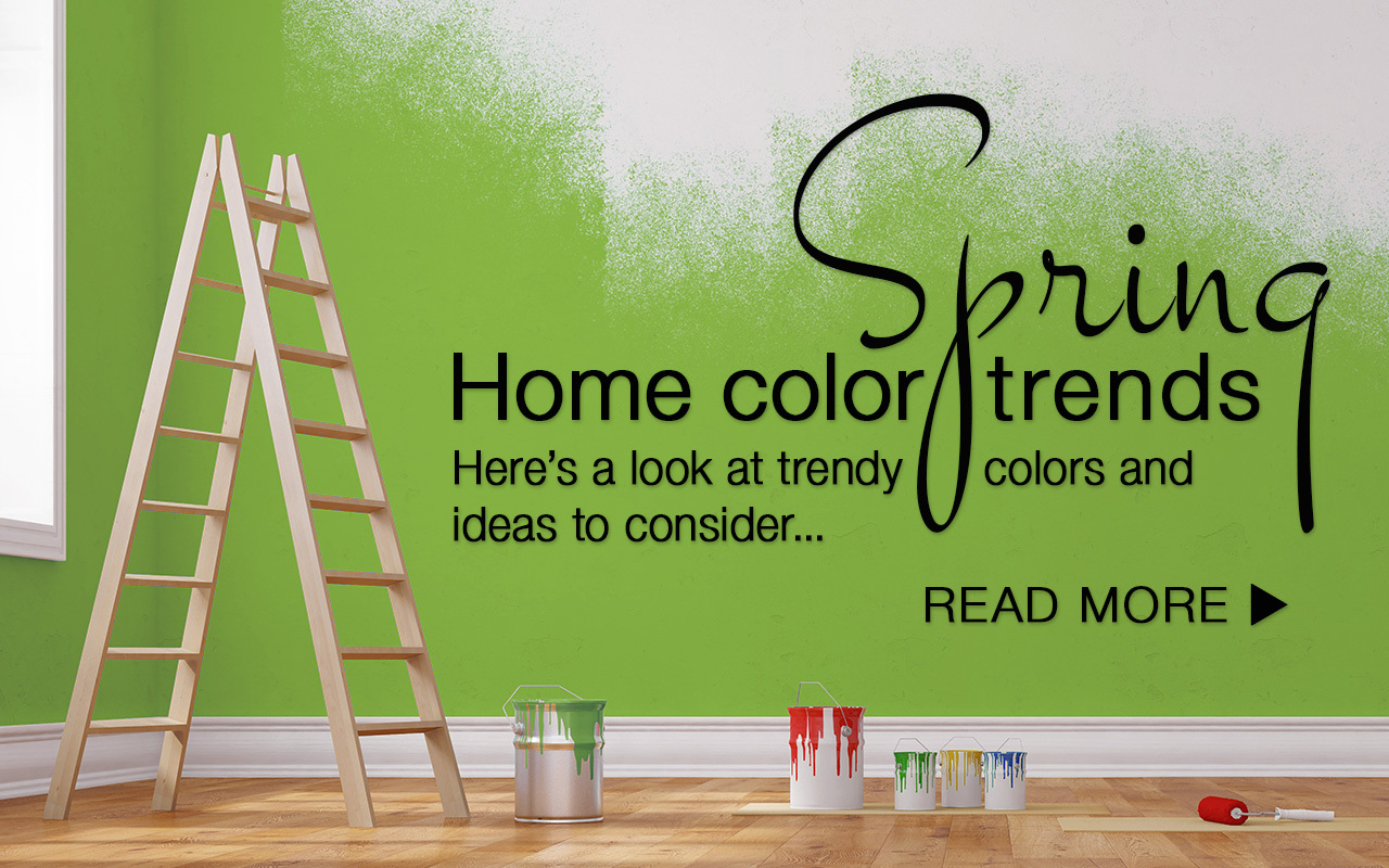Spring Home Color Trends