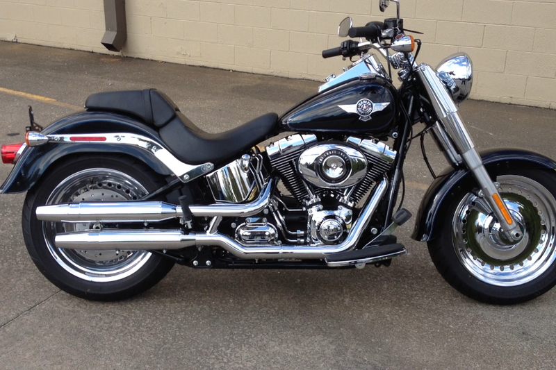 2013 Harley-Davidson� FLSTF - Softail� Fat Boy�