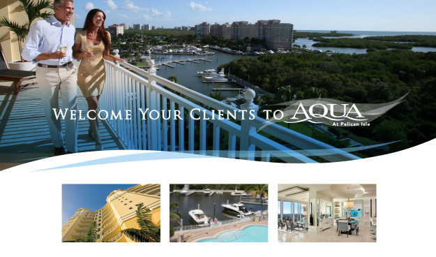 Welcome Your Clients to AQUA