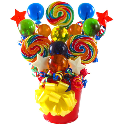 Whirly Lollipop Bouquet