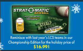 Reminisce with last year's LCS teams in ourChampionship Edition for the holiday price of $16.99!