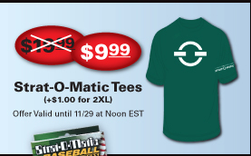 Strat-O-Matic Tees