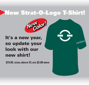 New Strat-O-Logo T-Shirt!