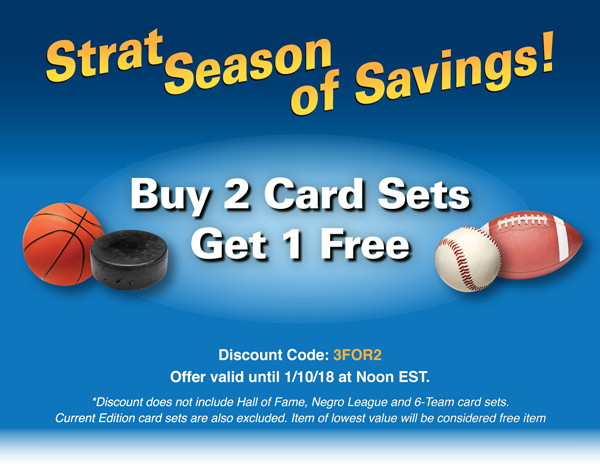 Buy 2 Card Sets Get 1 Free