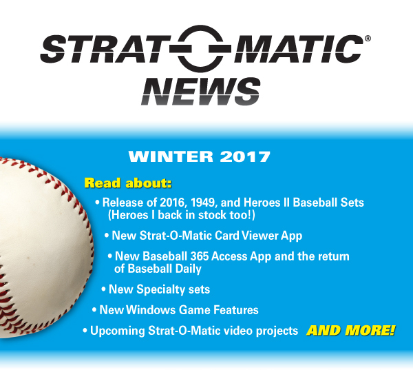 WINTER 2017 Newsletter